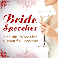 Bride Wedding Speeches